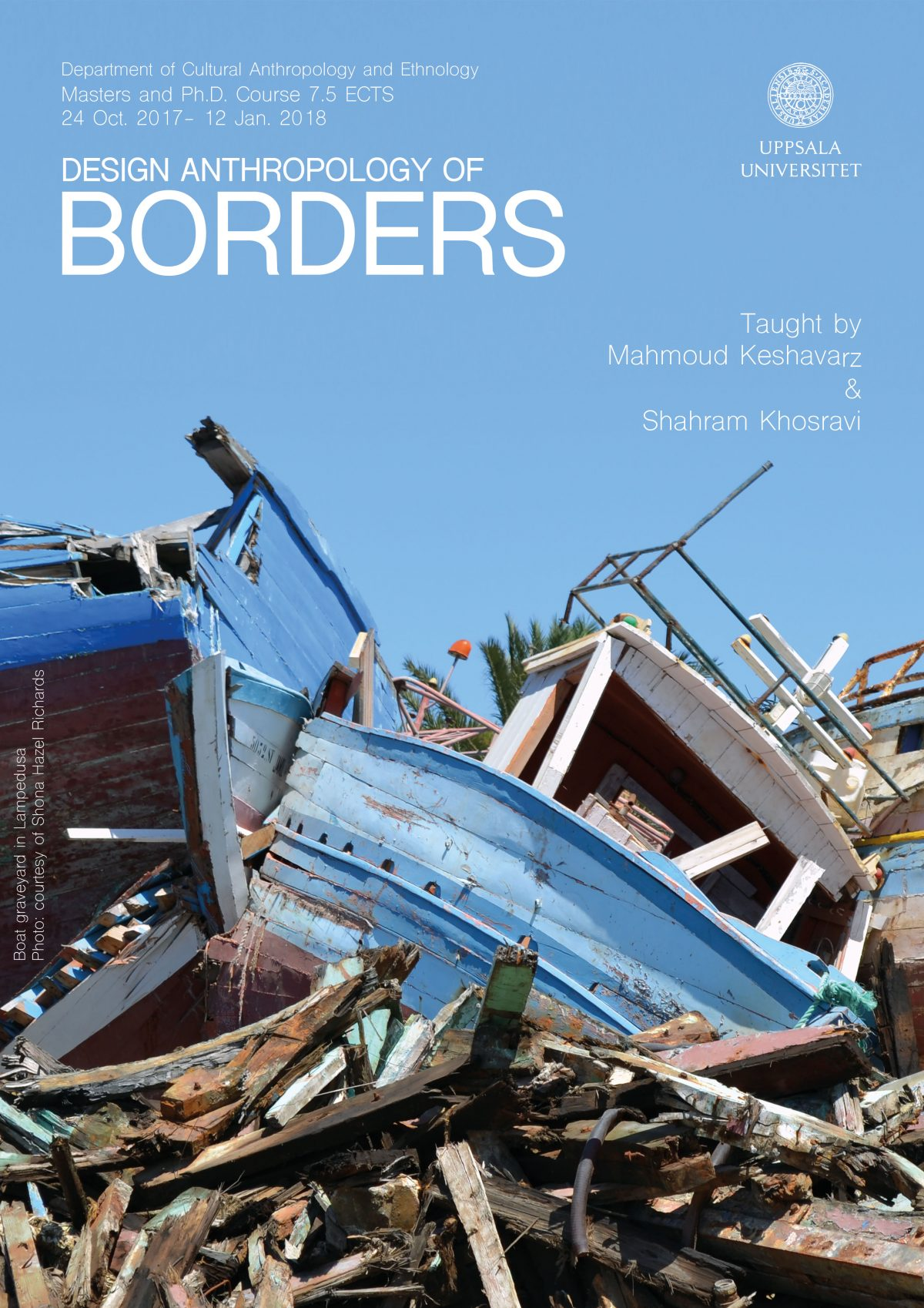 Design Anthropology of Borders – Masters and PhD Course